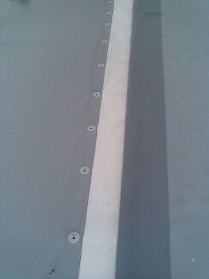 mechanicky kotvené střechy