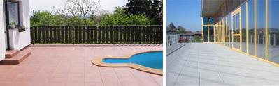 terasová dlažba