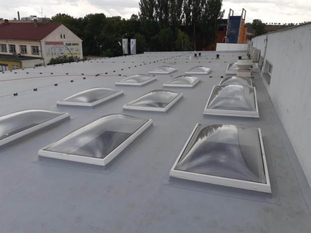 plochá střecha Auto Poly