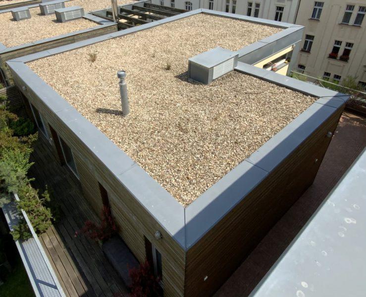Rekonstrukce hydroizolační vrsty střechy